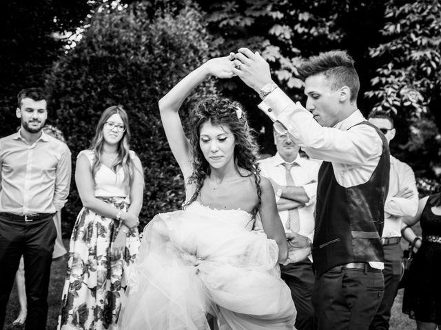 Il matrimonio di claudio e gaia a Brandico, Brescia 126