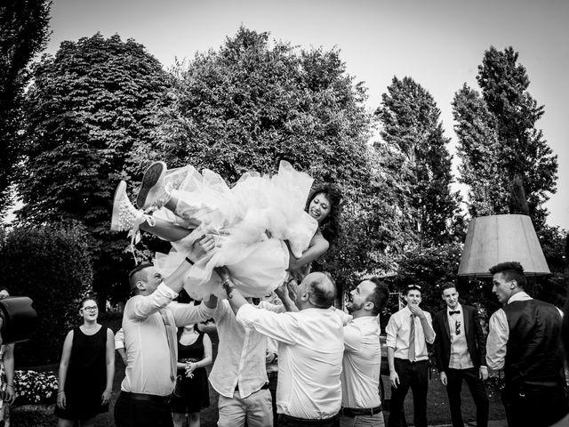 Il matrimonio di claudio e gaia a Brandico, Brescia 129