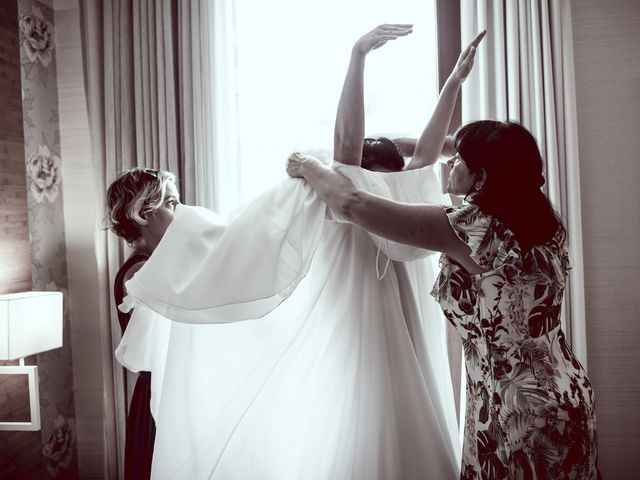 Il matrimonio di Scott e Ela a Sirmione, Brescia 11