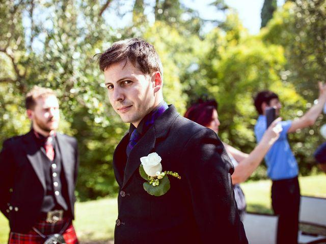 Il matrimonio di Scott e Ela a Sirmione, Brescia 13