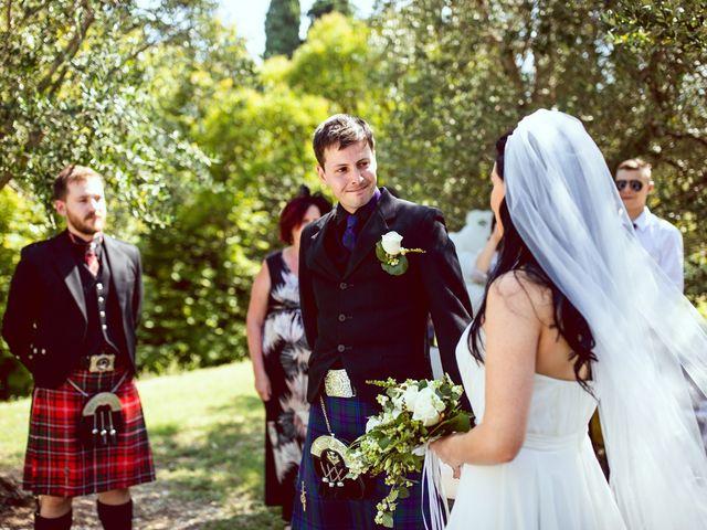 Il matrimonio di Scott e Ela a Sirmione, Brescia 21