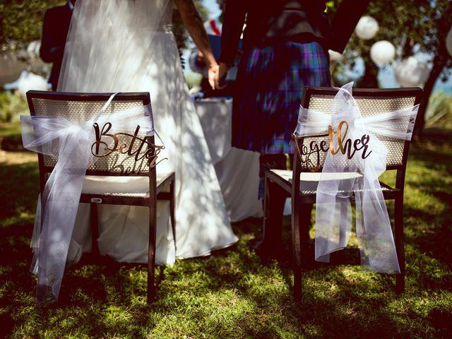 Il matrimonio di Scott e Ela a Sirmione, Brescia 30