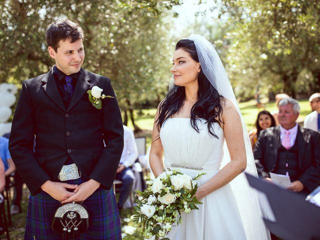Il matrimonio di Scott e Ela a Sirmione, Brescia 29