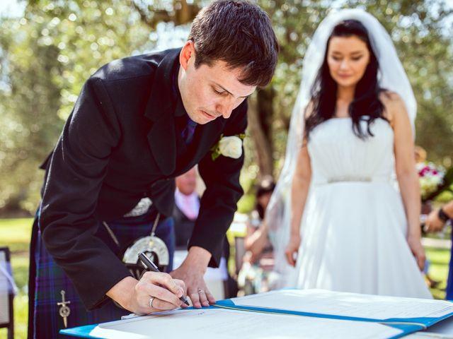 Il matrimonio di Scott e Ela a Sirmione, Brescia 26