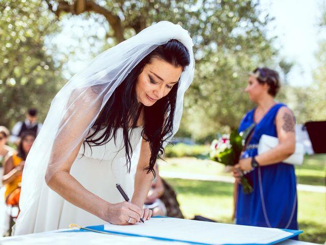 Il matrimonio di Scott e Ela a Sirmione, Brescia 25