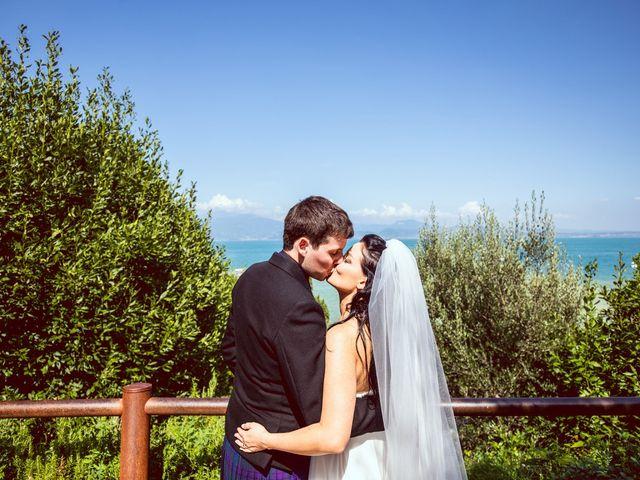 Il matrimonio di Scott e Ela a Sirmione, Brescia 33