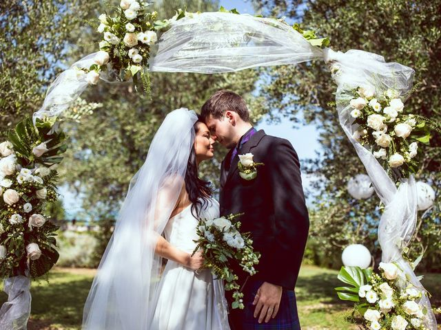 Il matrimonio di Scott e Ela a Sirmione, Brescia 38