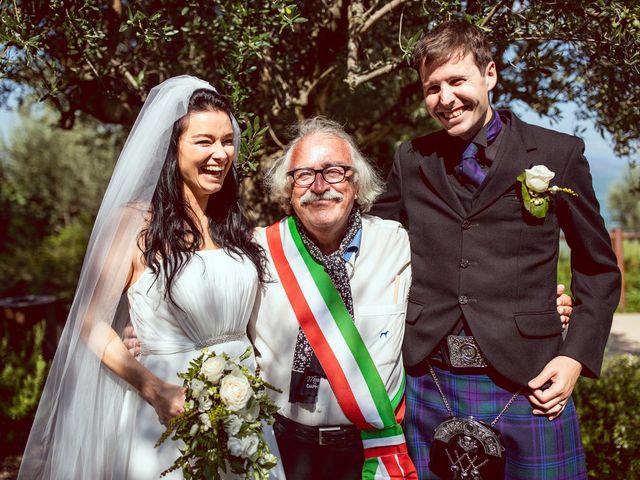 Il matrimonio di Scott e Ela a Sirmione, Brescia 36