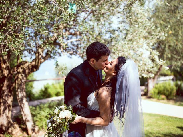 Il matrimonio di Scott e Ela a Sirmione, Brescia 42
