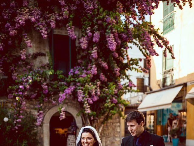 Il matrimonio di Scott e Ela a Sirmione, Brescia 54