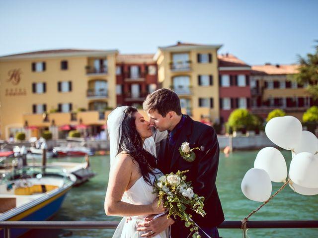 Il matrimonio di Scott e Ela a Sirmione, Brescia 70