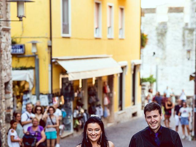 Il matrimonio di Scott e Ela a Sirmione, Brescia 73