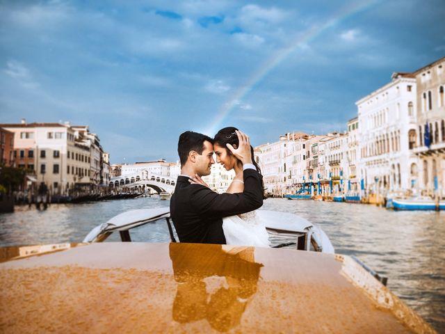 Il matrimonio di Alessio e Yesena a Venezia, Venezia 50
