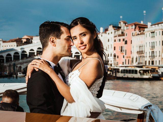 Il matrimonio di Alessio e Yesena a Venezia, Venezia 51