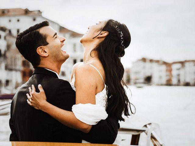 Il matrimonio di Alessio e Yesena a Venezia, Venezia 55