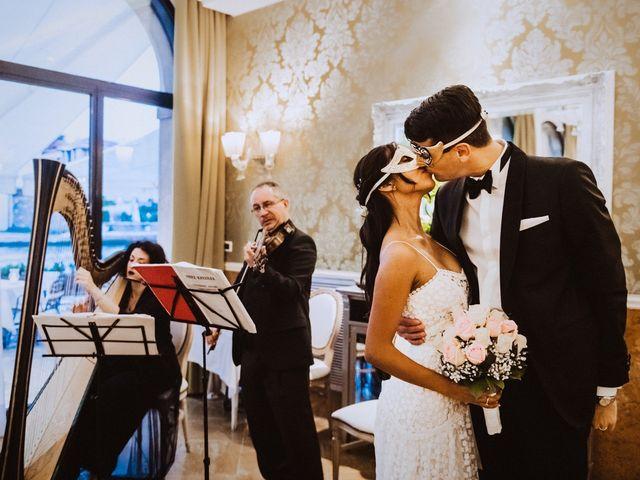Il matrimonio di Alessio e Yesena a Venezia, Venezia 68