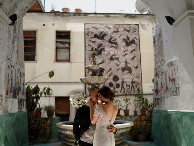 Il matrimonio di Nunzia e Salvatore a Torre Annunziata, Napoli 41