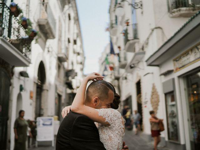 Il matrimonio di Nunzia e Salvatore a Torre Annunziata, Napoli 2