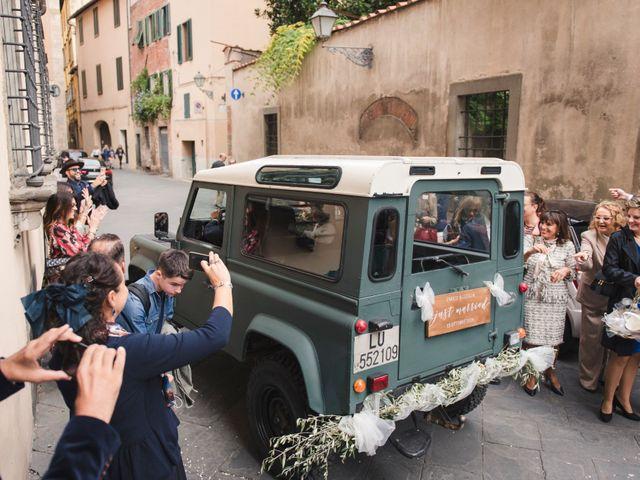 Il matrimonio di Enrico e Lucilla a Lucca, Lucca 27
