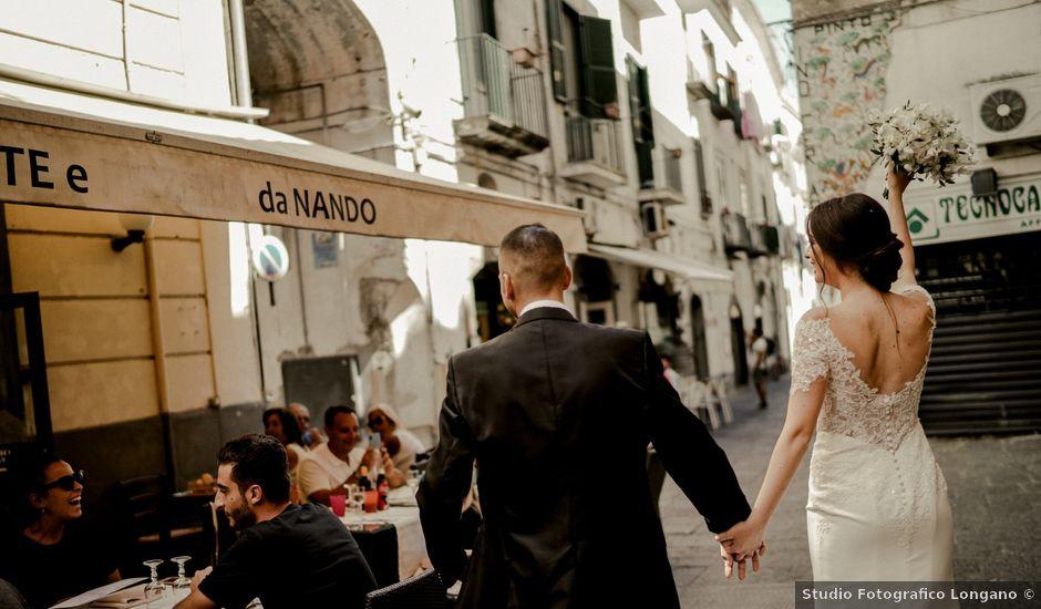 Il matrimonio di Nunzia e Salvatore a Torre Annunziata, Napoli