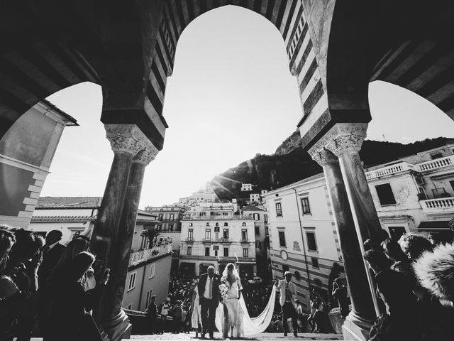 Il matrimonio di Mario e Lidia a Amalfi, Salerno 10