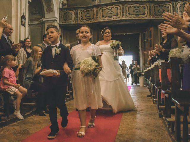 Il matrimonio di Massimiliano e Marica a Giussago, Pavia 20