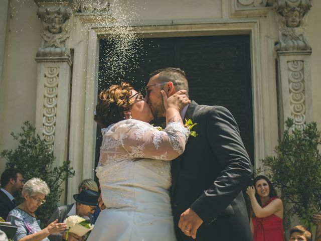 Il matrimonio di Massimiliano e Marica a Giussago, Pavia 30