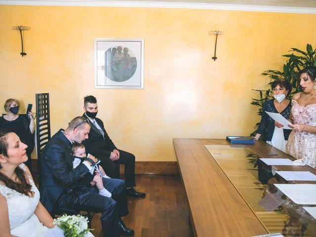 Il matrimonio di Gabriele e Francesca a Arese, Milano 38
