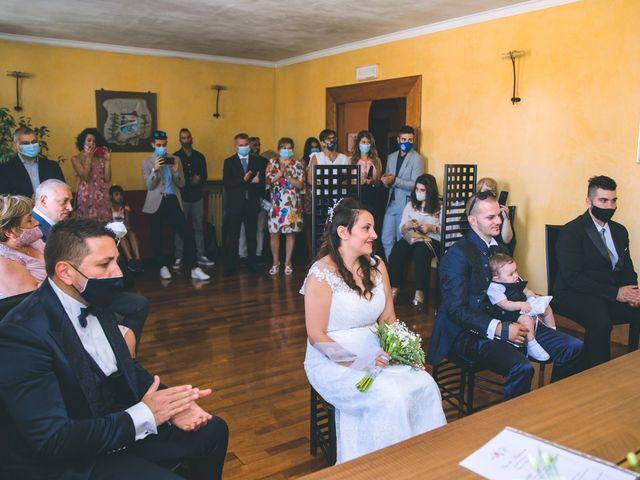 Il matrimonio di Gabriele e Francesca a Arese, Milano 41