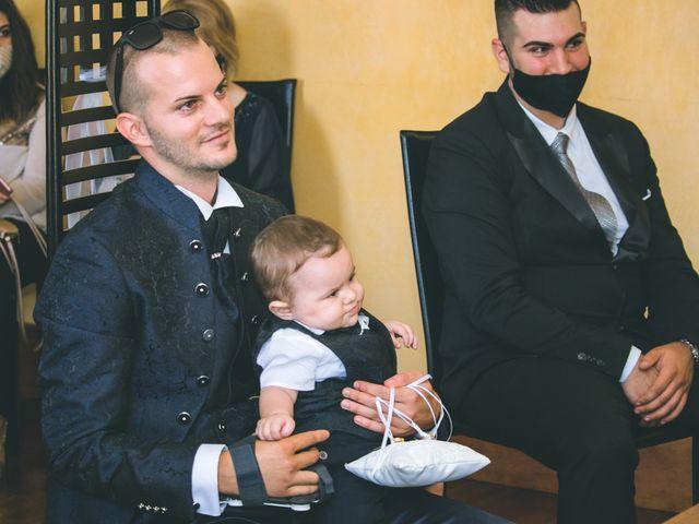 Il matrimonio di Gabriele e Francesca a Arese, Milano 43