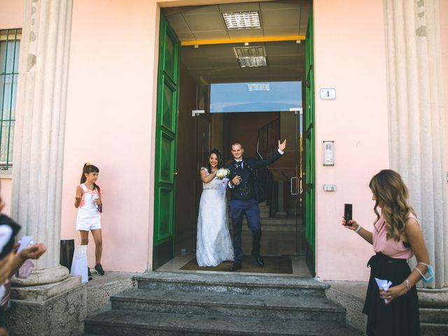 Il matrimonio di Gabriele e Francesca a Arese, Milano 56
