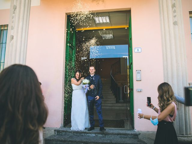 Il matrimonio di Gabriele e Francesca a Arese, Milano 57