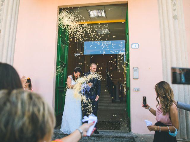 Il matrimonio di Gabriele e Francesca a Arese, Milano 59