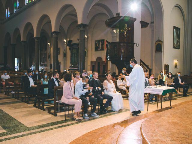 Il matrimonio di Gabriele e Francesca a Arese, Milano 79