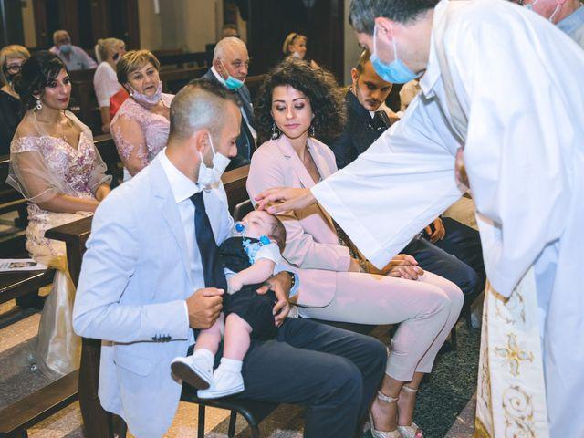 Il matrimonio di Gabriele e Francesca a Arese, Milano 82
