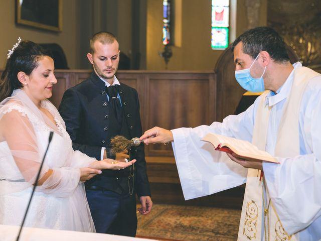 Il matrimonio di Gabriele e Francesca a Arese, Milano 83