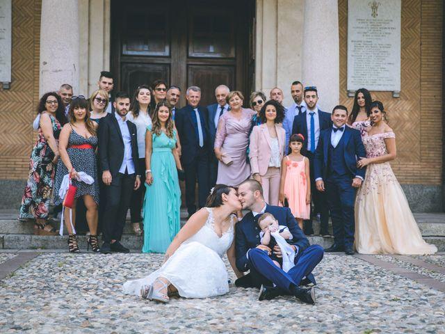 Il matrimonio di Gabriele e Francesca a Arese, Milano 87