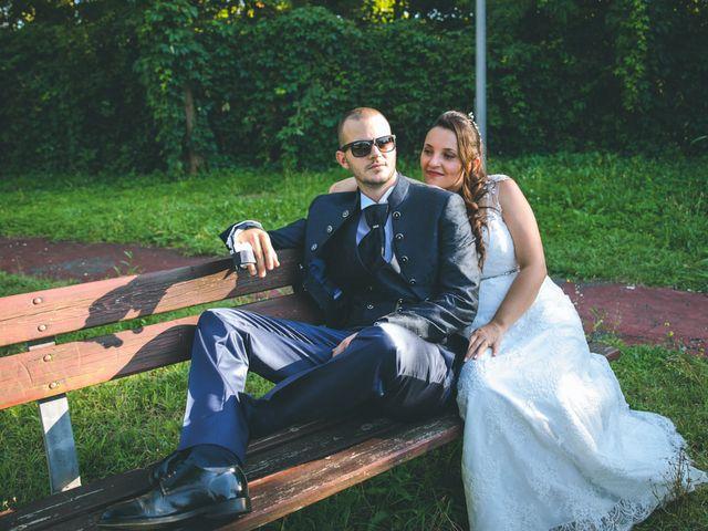 Il matrimonio di Gabriele e Francesca a Arese, Milano 104