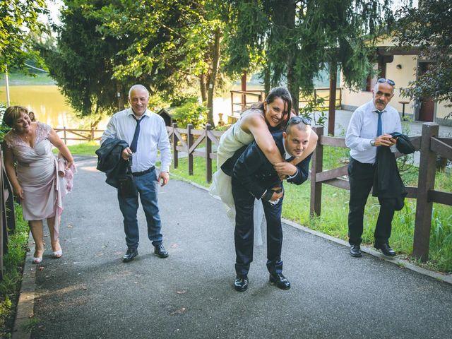 Il matrimonio di Gabriele e Francesca a Arese, Milano 105