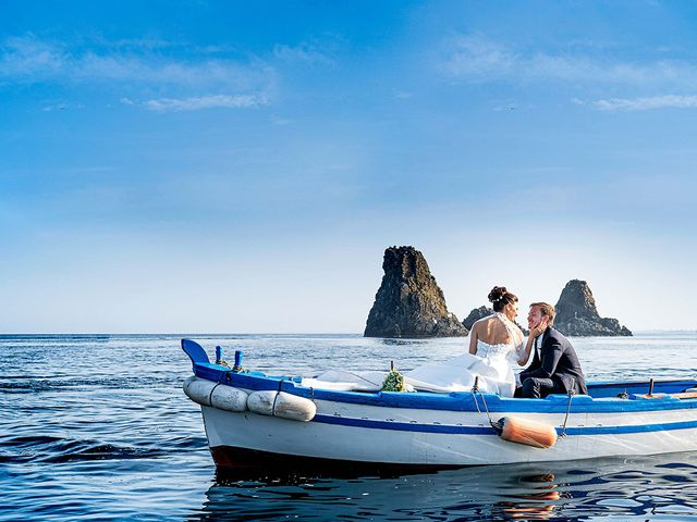 Il matrimonio di Elisa e Gianmarco a Acireale, Catania 37