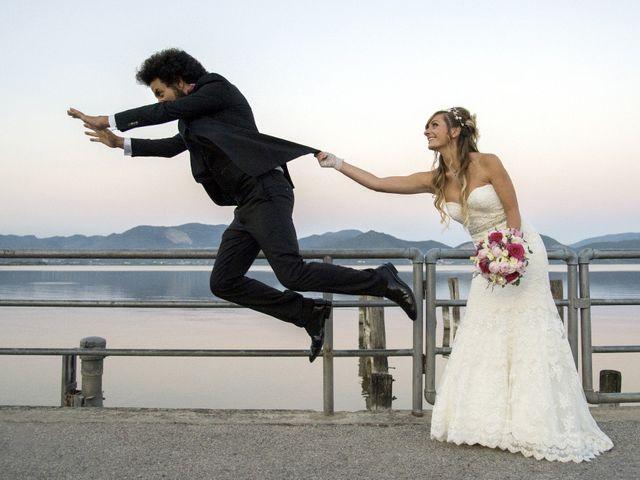le nozze di Erica e Adriano