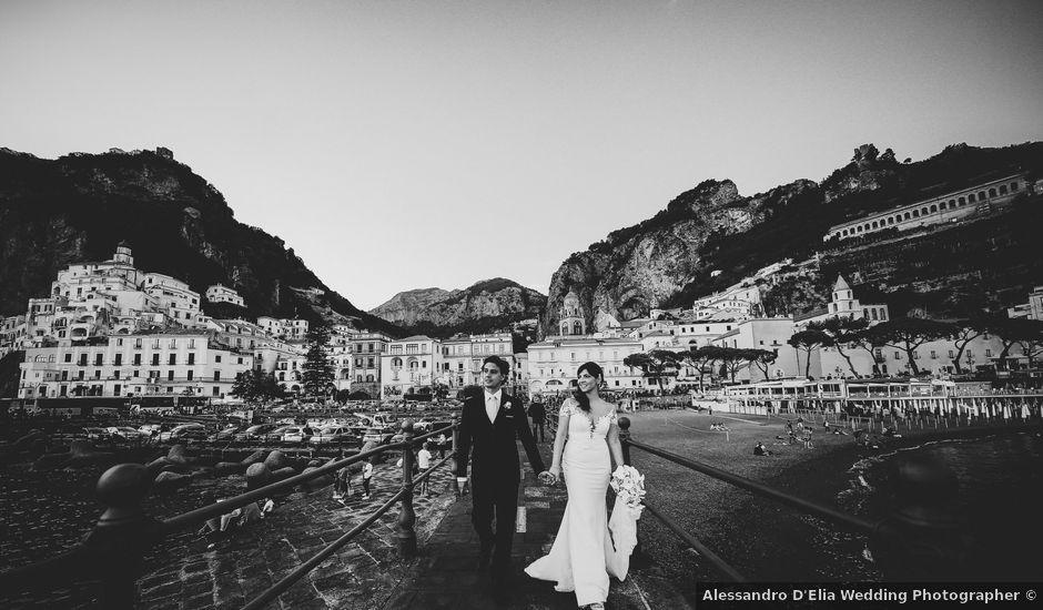 Il matrimonio di Mario e Lidia a Amalfi, Salerno