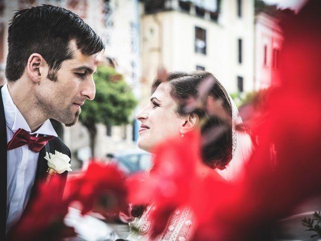 le nozze di Sara e Loris