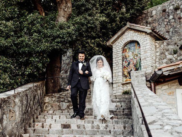 Il matrimonio di Stefano e Marzia a Greccio, Rieti 30