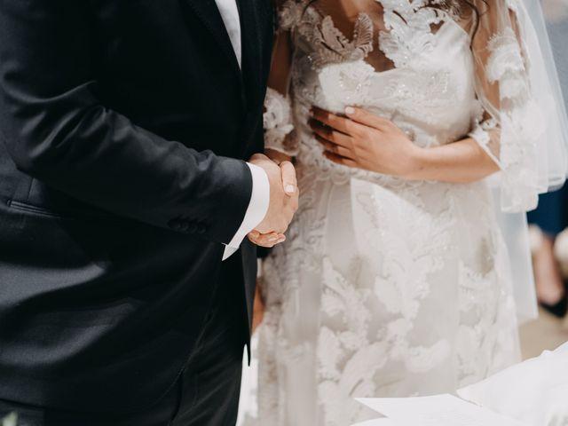 Il matrimonio di Stefano e Marzia a Greccio, Rieti 35