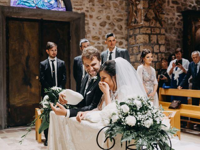 Il matrimonio di Stefano e Marzia a Greccio, Rieti 38