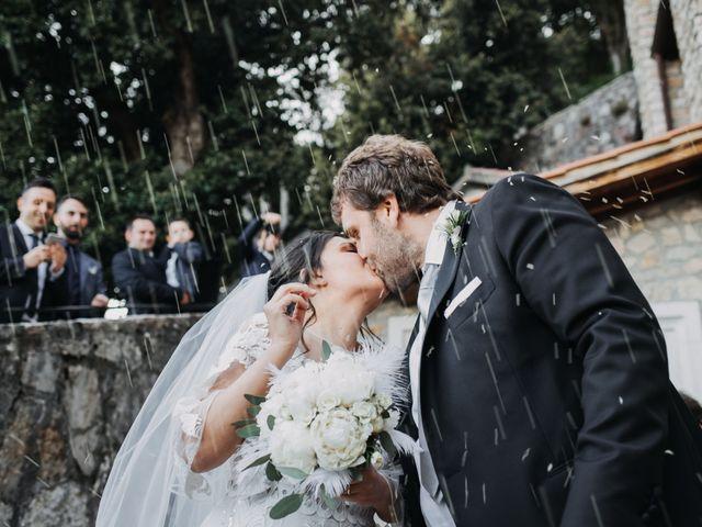 Il matrimonio di Stefano e Marzia a Greccio, Rieti 40