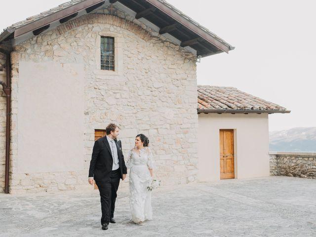Il matrimonio di Stefano e Marzia a Greccio, Rieti 42