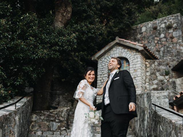 Il matrimonio di Stefano e Marzia a Greccio, Rieti 44
