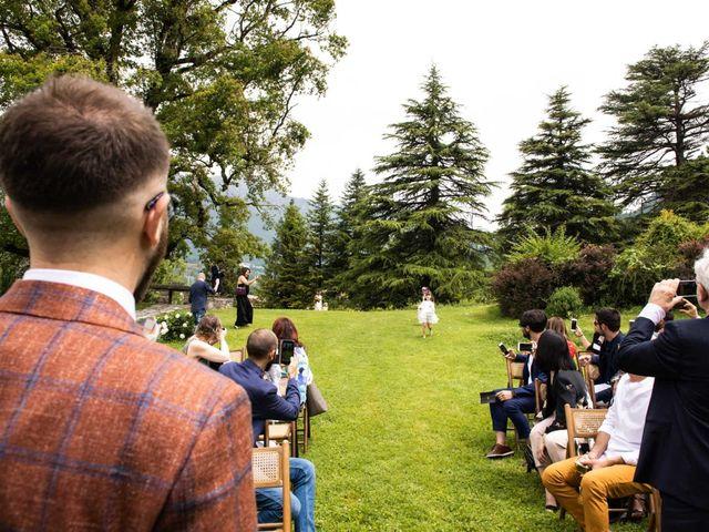 Il matrimonio di Riccardo e Francesca a Strigno, Trento 35